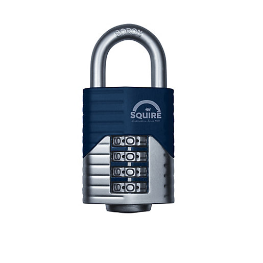 Squire Combination Padlock with Boron Shackle - 50mm