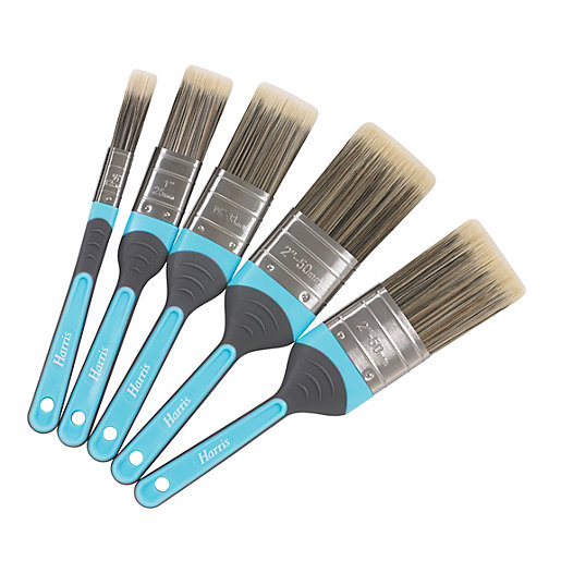 Harris Inspire Mixed Size Paint Brushes - Pack
