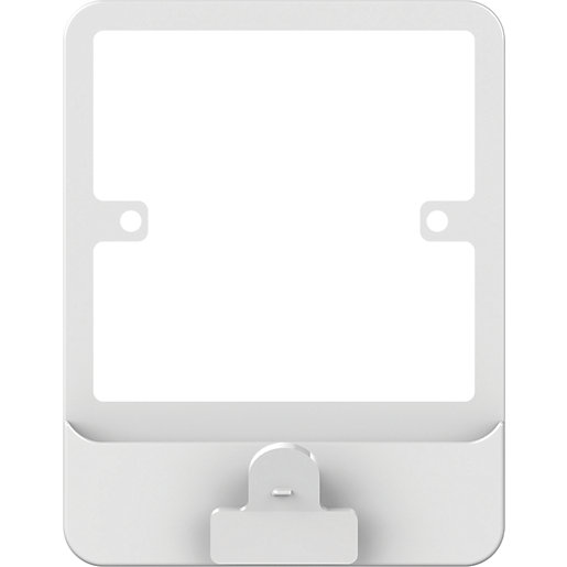 Lisse 1 Gang Plate Switch Surround with Clip
