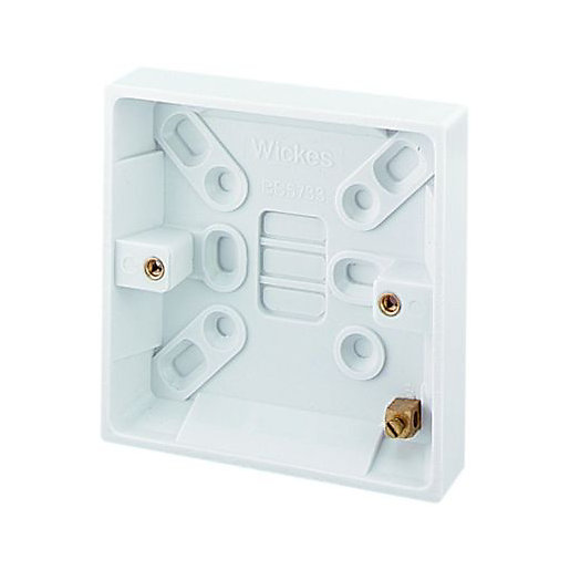 pattresses back boxes blanking plates switches sockets rh wickes co uk