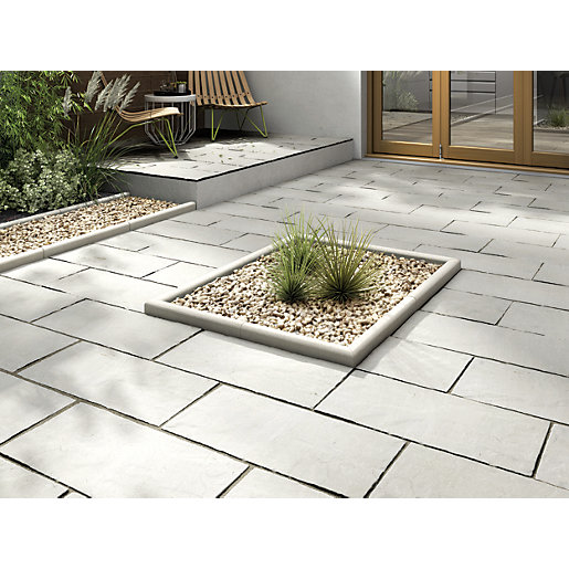 Patio Slabs And Designs: Marshalls Indian Sandstone 600 X 300mm Single