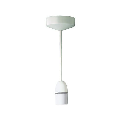 Wickes Kitchen Pendant Lights: MK Pendant Set - White 230mm