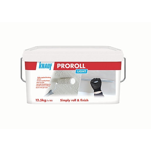 Knauf Proroll Light Plaster - 12.5kg