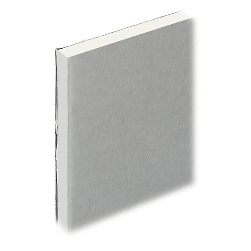 Foil Backed Gypsum Board : Knauf vapour panel square edge  mm wickes