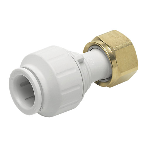 John Guest Speedfit PEMSTC1516P Straight Tap Connector -
