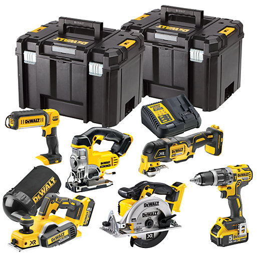 DEWALT DCK665P3T 18V Xr 6 Piece Brushless Cordless