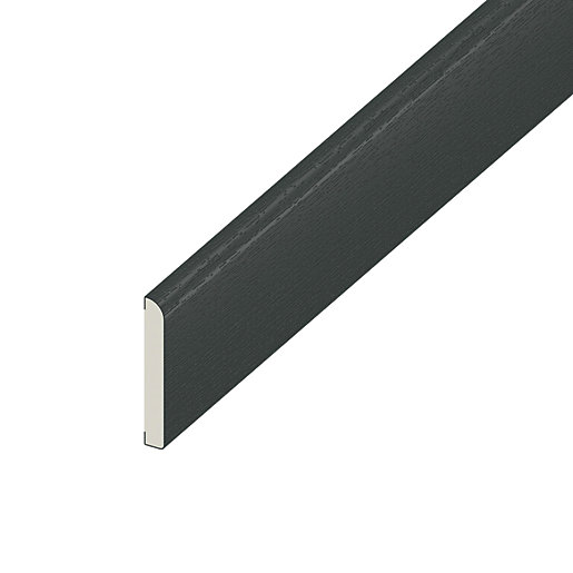 Wickes PVCu Cloaking Prof. - Anthracite Grey 45mm