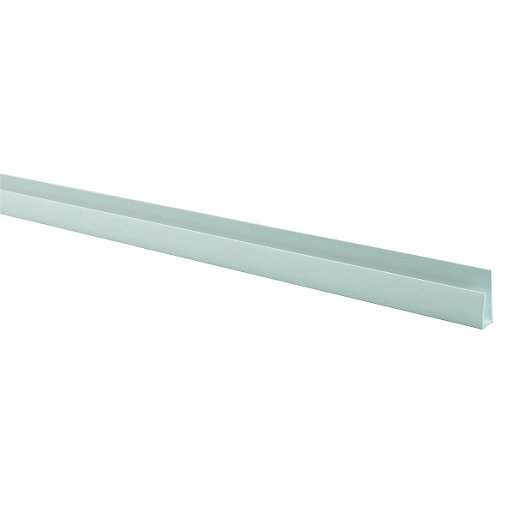 Wickes PVCu White Universal Channel Board 2500mm