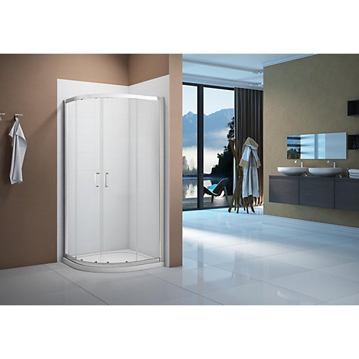 Nexa By Merlyn 6mm 2 Door Sliding Shower