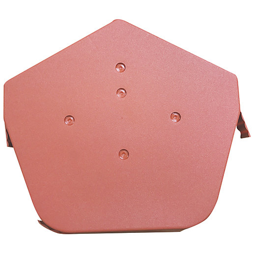 Easy-Trim Verge U Angled Ridge Cap Terracotta