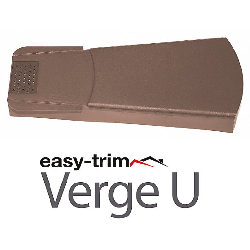 Easy-Trim Verge U Brown