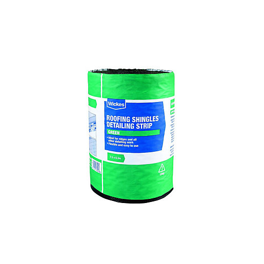 Wickes Roofing Shingles Detailing Strip Green 7 5 X 0 3m
