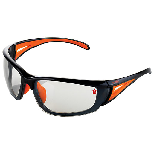 Scruffs Hawk Safety Glasses with Smoke Lens