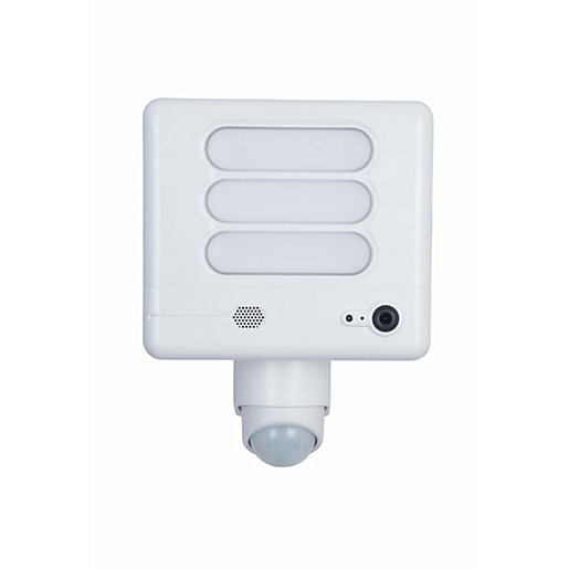 Lutec LED Security Floodlight With PIR Sensor And Wireless