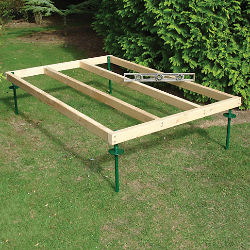 Shire Adjustable Base For 6 X 4 Sheds Wickes Co Uk