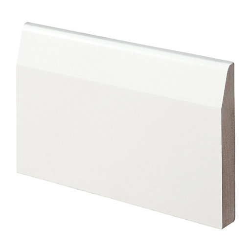 Wickes Chamfered Fully Finished MDF Skirting - 14.5mm