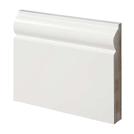 Wickes Torus Fully Finished MDF Skirting - 18mm