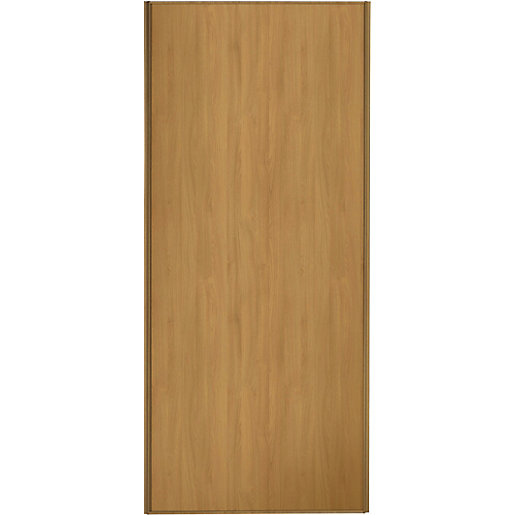 Wickes Sliding Wardrobe Door Oak Frame Amp Panel Wickes Co Uk