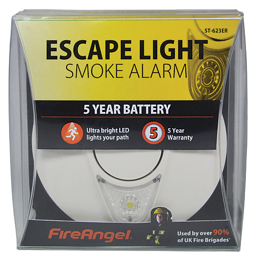 Fireangel Smoke Alarm - 5 Year Battery and