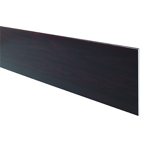 Wickes PVCu Rosewood Soffit Reveal Liner Board 200