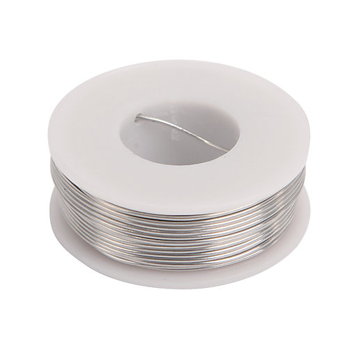 Wickes Lead Free Electrical Solder - 100g
