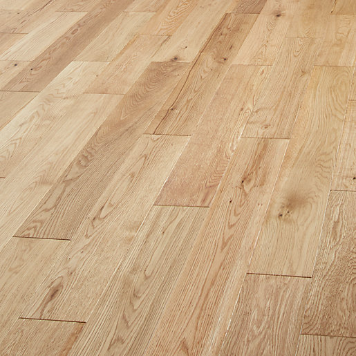 Style Country Light Oak Solid Wood Flooring -