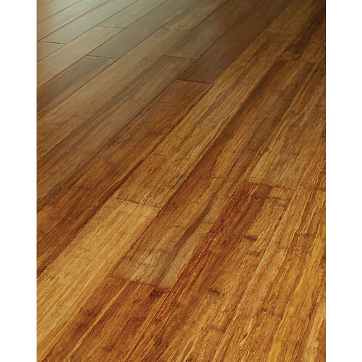Westco stranded bamboo solid wood flooring for Hard laminate flooring