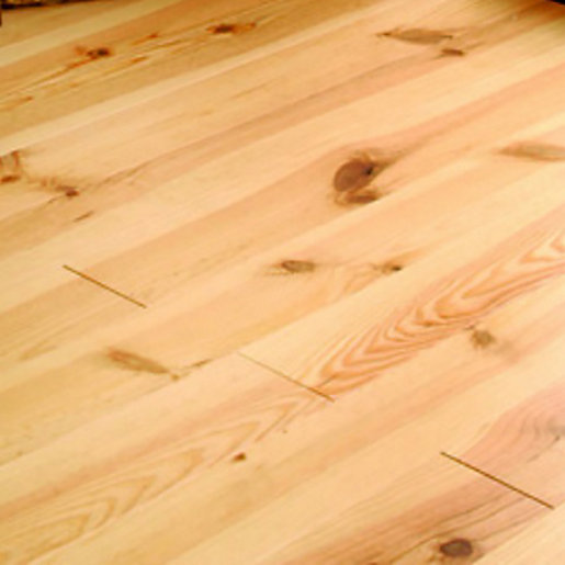 Wickes Bordeaux Pine Wood Lacquered Flooring - 21mm