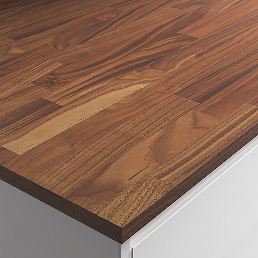 Engineered American Black Walnut Worktop Hard Wax Oil