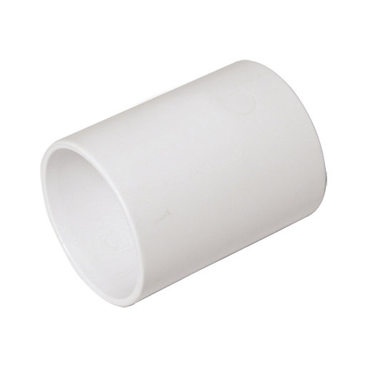 FloPlast WS07W Solvent Weld Waste Straight Coupler -