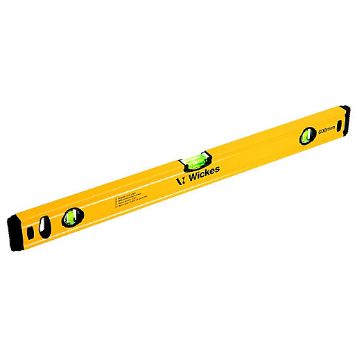 Wickes General Use Spirit Level 600mm Wickes Co Uk