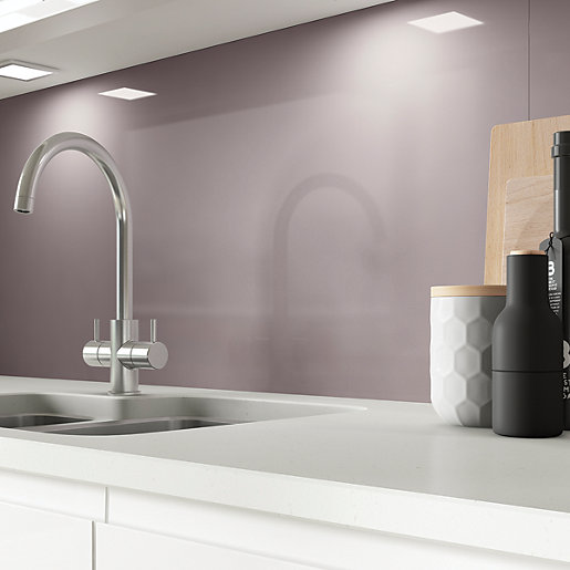AluSplash Splashback - Grey Lavender 900 X 800mm