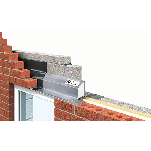 Ig Ltd 75 90mm Steel Cavity Wall Lintel Wickes Co Uk