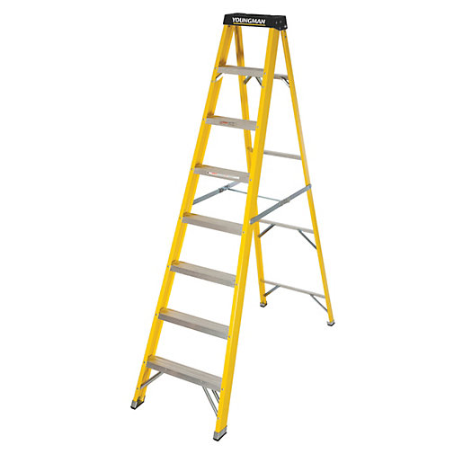 Step Ladders - Ladders & Platforms -Tools, Electrical & Plumbing ...