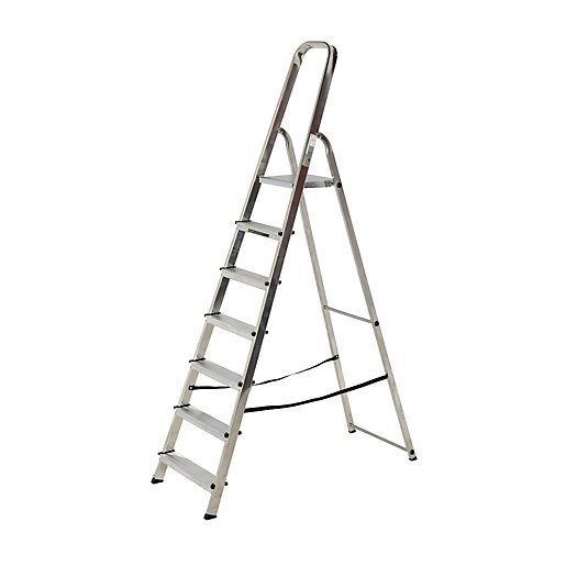 aluminium step ladder. Aluminium Stepladder Becomes Available Again. Mouse Over Image For A Closer Look. Step Ladder