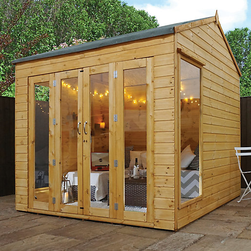 Mercia 8 x 8 ft Vermont Summerhouse with