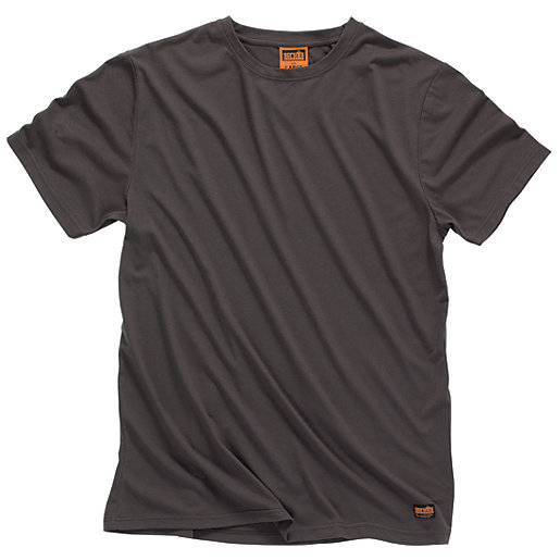 Scruffs Worker T-Shirt - Graphite