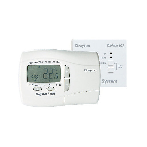 Thermostats Central Heating Controls Wickes