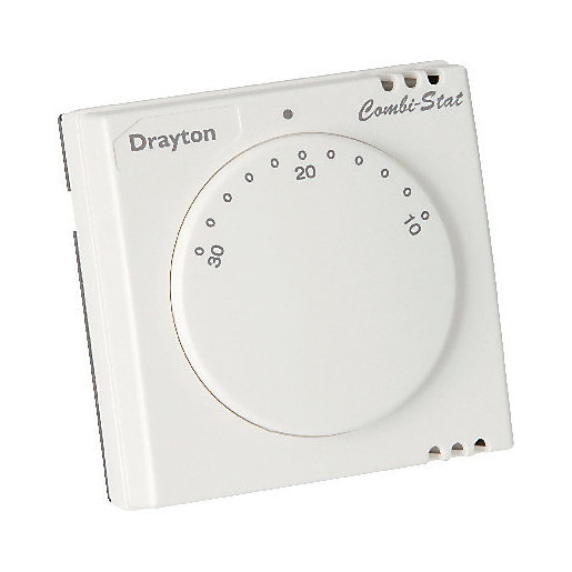 Thermostats central heating controls wickes drayton rts8 heating room thermostat asfbconference2016 Choice Image