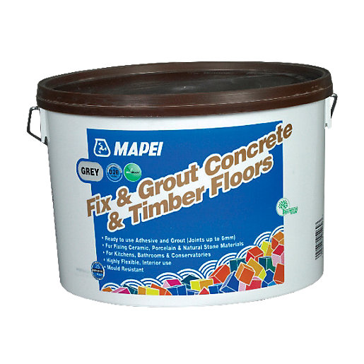 Mapei Fix Amp Grout For Concrete And Wooden Floors 15kg