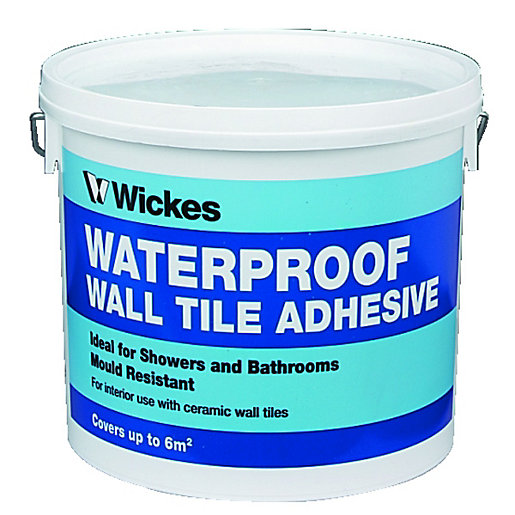 Wickes Waterproof Wall Tile Adhesive 5L Wickescouk