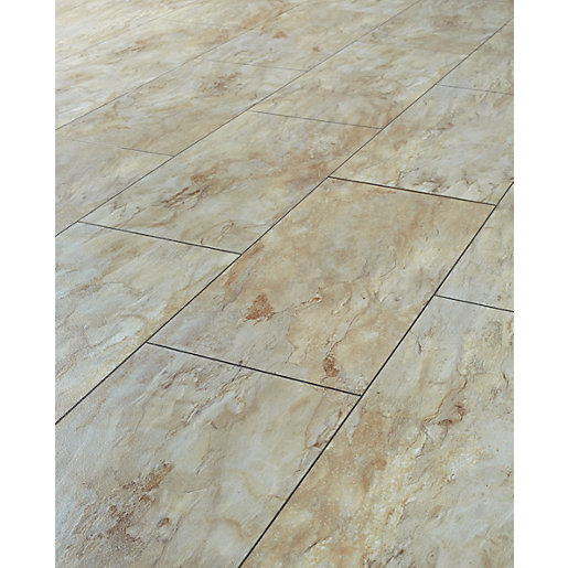 Kitchen tile effect laminate flooring carpet review for Laminate tile squares