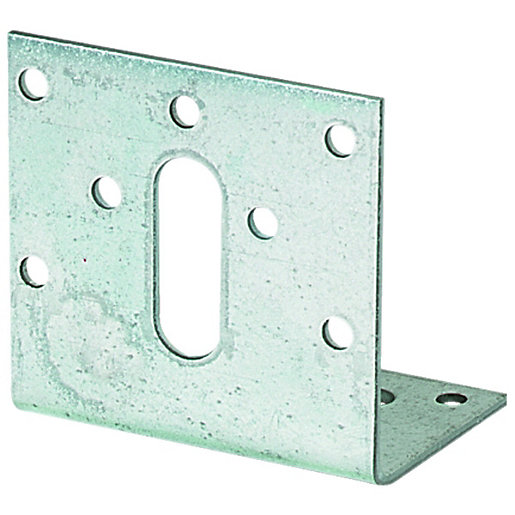 wickes galvansied angle bracket 50x50x35mm co uk