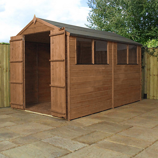 Mercia 10 x 6 ft Timber Shiplap Apex