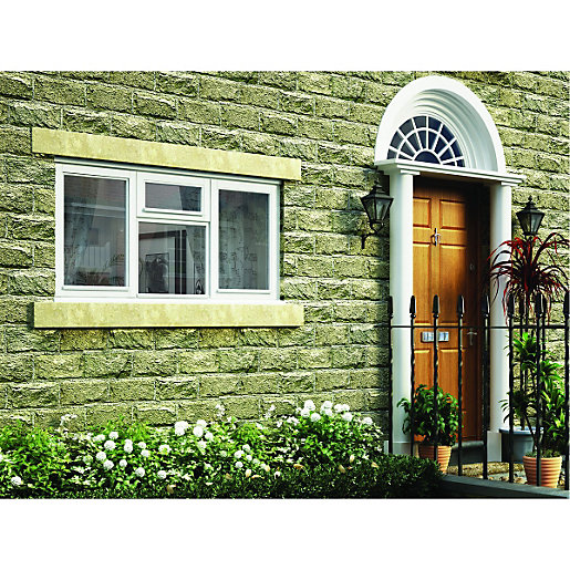 Wickes White Timber Casement Window - Side Hung