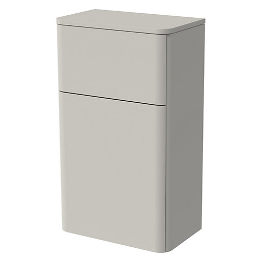 Wickes Malmo Light Grey Freestanding Toilet Unit -