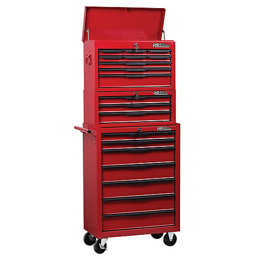 Hilka Heavy Duty 19 Drawer Mobile Combination Unit