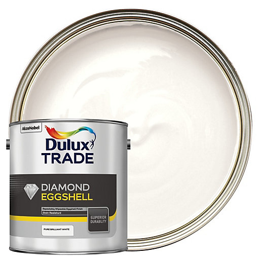 Dulux Trade Diamond Eggshell Emulsion Paint - Pure