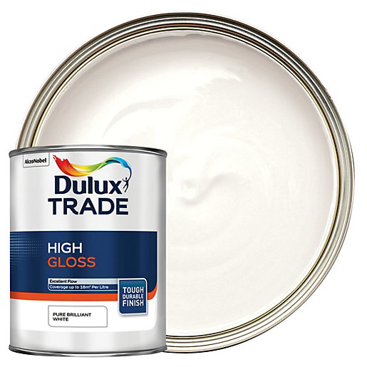 Dulux Trade High Gloss Paint - Pure Brilliant