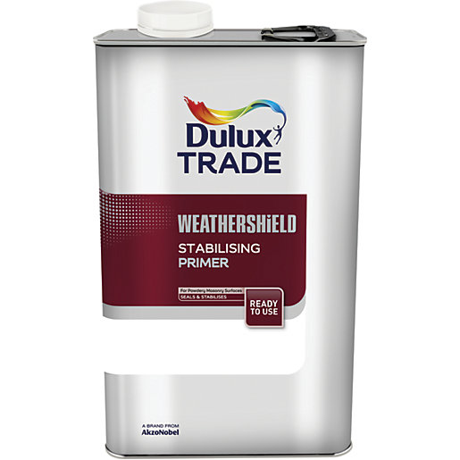 Dulux Trade Weathershield Stabilising Primer - 5L